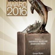 Urkunde Tauchen-Award 2016