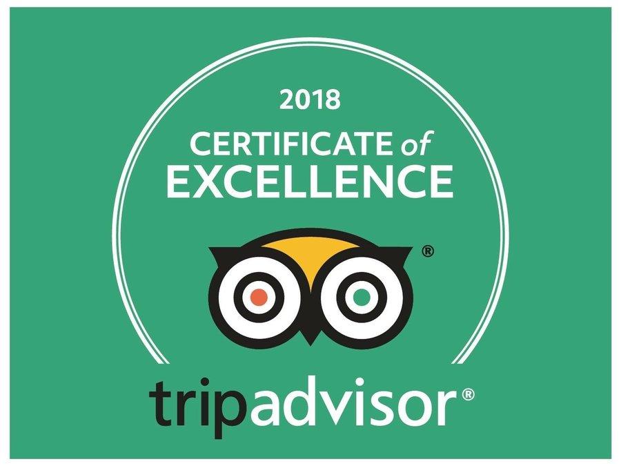 Auszeichnung Tripadvisor 2017